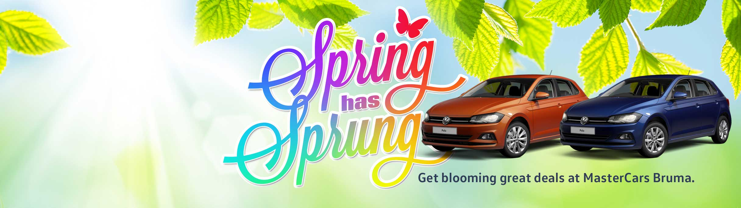 Get blooming great deals at MasterCars Barons  Bruma