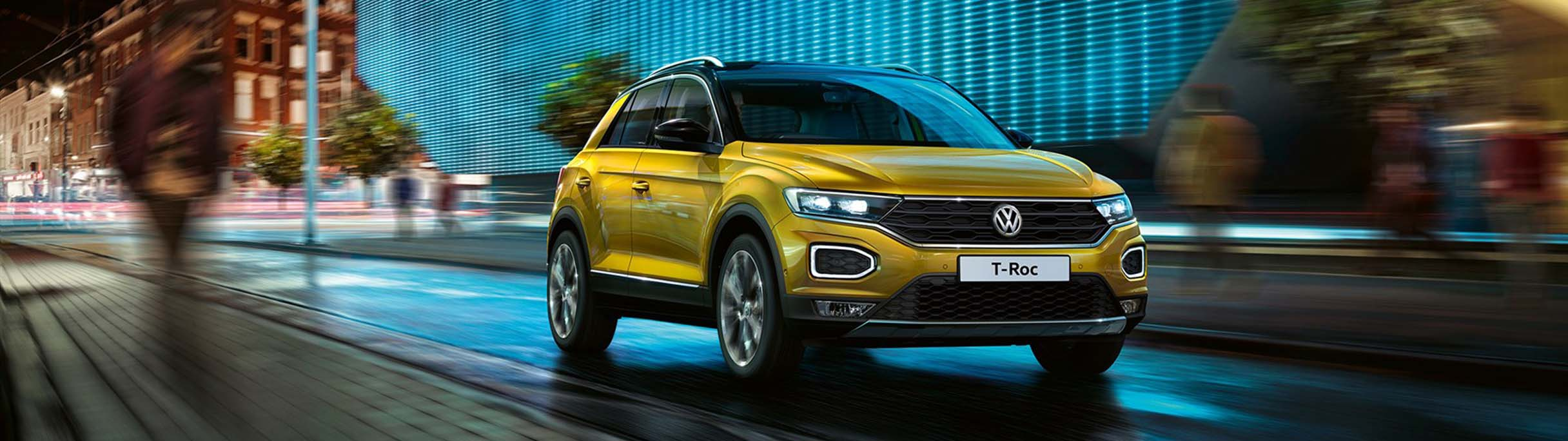 Pre-ordering the VW T-Roc at Barons Bruma